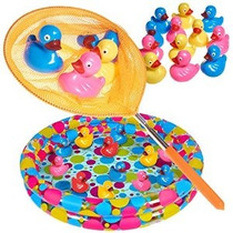 Duck Pond Piscina Con 12 Flotantes Duckies Tabuladas