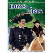 Dvd Vicente Fernandez Y Lorenzo De Monteclaro Dios Los Cria