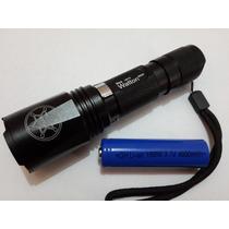 Lámpara O Linterna Táctica Police Recargable 2000 L. 600 W
