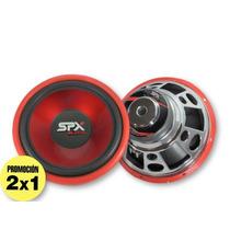 Par De Subwoofers 12 Spx Sdx Nuevos 1200 Watts Promo 2x1