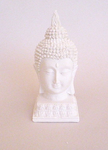 Busto Cabeza De Buda De Yeso Para Pintar - $ 43,20 en Mercado Libre