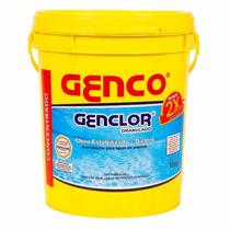 Genclor Granulado Cloro Estabilizado 10kgs Genco - 2 Baldes