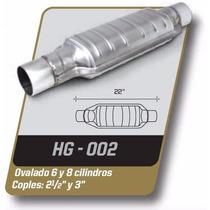 Catalizador Gas Lp Y Gnc Universal Ovalado 6 Y 8 Cil