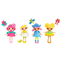 Kit Com 4 Bonecas Mini Lalaloopsy - Buba Toys