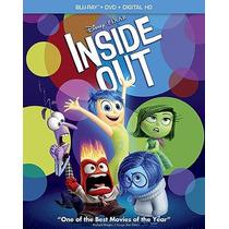 Pelicula Inside Out Intensamente Blu-ray Dvd Blakhelmet Sp