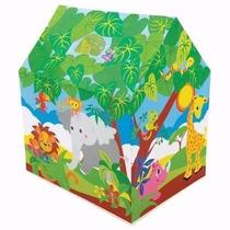 Casa Carpa Para Niños. Casa Safari De Juegos Intex