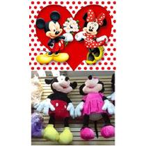 Minnie Ou Mickey De Pelucia Gigantes 1,40mt Disney Enormes