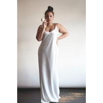 Vestido Noiva Boho Plus Size Cetim Simples E Elegante