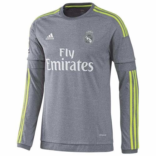 jersey real madrid visitante manga larga 2015-2016 adidas. Cargando zoom. d32d7ad25a444