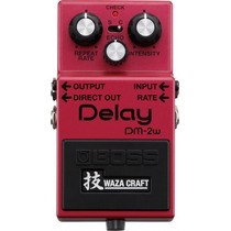 Pedal Boss Dm-2w | Waza Craft | Delay Analógico | Guitarra
