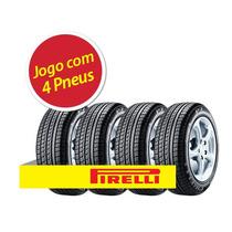 Kit Pneu Aro 15 Pirelli 195/65r15 P7 91v 4 Unidades