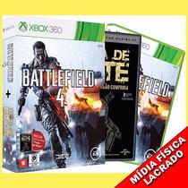 Battlefield 4 Xbox 360 Original Novo Lacrado Em Português