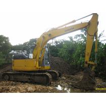 Maquinaria Pesada Retroexcavadoras Komatsu Pc 128 2001