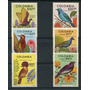 Flores Colombia 1977 Serie De Estampillas Mint Aves Pajaros
