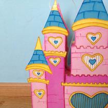 Piñata Castillo De Princesas