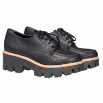 Borceguito Plataforma Borcego Zapatos Almacen De Cueros
