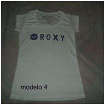 Franelas Roxy Y Hurley Talla Plus Xl, 2xl, 3xl A Buen Precio
