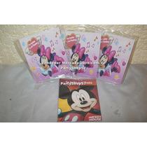 Tarjeta De Invitacion Minnie Mickey Barbie Dora Diego Doki