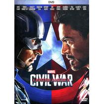 Dvd Civil War Capitan America ( 2016 ) - Anthony & Joe Russo