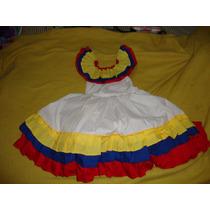 Vestido De Joropo Moderno Traje Tipico Cierre De Proyecto