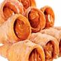 Canudo Leite Frito Recheado Doce De Leite Tipo Caseiro 60 Un