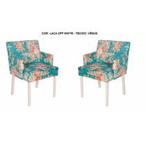 Cadeira Decorativa Império Kit C/2 - Mobillare