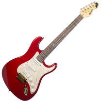 Guitarra Dolphin Stratocaster Rocket Vermelho