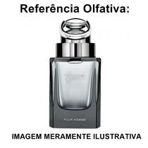 Perfume Inspirado No Guci Pour Hommme Mas. 65ml Contratipo