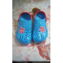 Zapatos Cholitas Sandalias T Crocs De Niña Nuevas!!