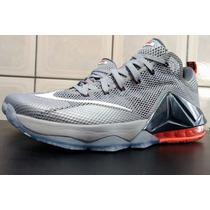 Tênis Nike Lebron James 12 Low Xii Basquete Br 43 Us 11