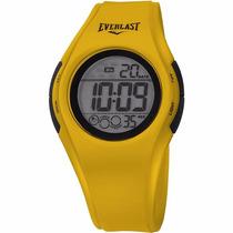 Relógio Unissex Everlast Digital E415 Amarelo