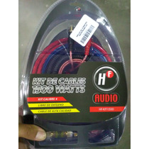 Kit De Instalacion Car Audio Calibre 4 Hf 1500w