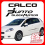 Calcomania Fiat Punto Black Motion