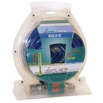 Lanzar Contaq 5000 Watt 0 Gauge Power Kit Amp