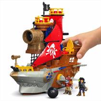 Imaginext - Navio Pirata De Tubarão Dhh51 - Fisher Price