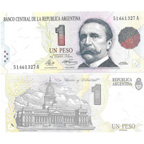Billete 1 Peso Convertible Primer Diseño A Sin Circular