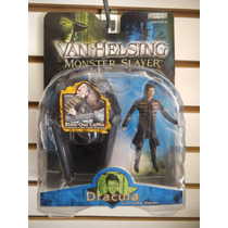 Dracula Con Ataud Van Helsing Monster Jakks Pacific