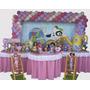 Decoração Festa Infantil Discovery Kids Rosa (locação)