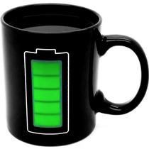 Taza Magica De Bateria Cambia Color Con Agua Caliente H1063