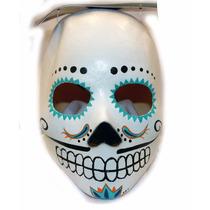 Mascara Vinil Catrin Dia De Muertos Halloween