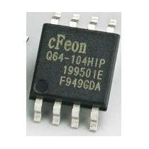 Memória Eprom En25q64 - Q64 - Cfeon 104hip - 25q64 Virgem