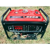 Generador Pws4500 Watts A/electrico Marca Poweren