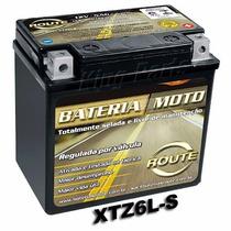 Bateria Moto 12 Volts Route Xtz6ls Xre 300 Pcx 150 Fan 125
