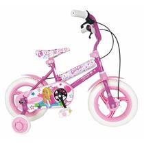 Bicicleta Rodado 12 Barbie Original Con Licencia