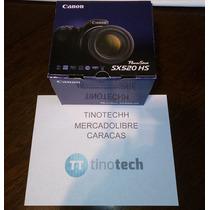 Canon Powershot Sx520 16mp 42x 1080p Zoom Nueva