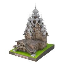 Miniatura De Papel 3d - Igreja Da Transfiguração - Russia