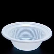 Prato Plástico Fundo Branco Pf12 Cm Caixa Com 1.000 Barato