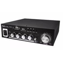Amplificador Potencia Audio Hifi 12v 220v 200w Potencia Usb