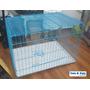 Pet Inn® Corral Con Puerta, Bandeja Orina Y Techo Mascotas
