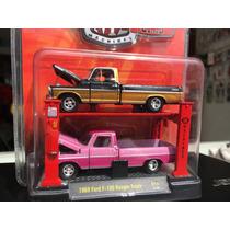 Camioneta For 100 A Escala 1:64 Modelo 1969 Colletion